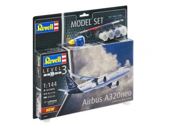 Revell model set Airbus A320 Neo ''Lufthansa'' set eigrače
