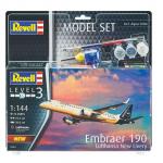 Revell model set Embraer 190 Lufthansa eigrače