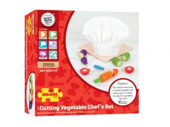 Režemo zelenjavo + kuharska kapa eigrače
