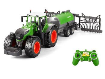 Traktor na daljinca Double Eagle z cisterno 1:16 2.4GHz