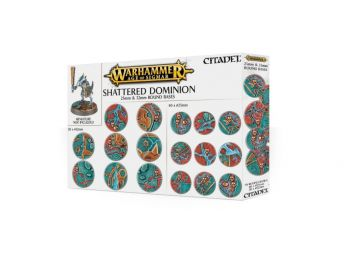 Warhammer Age of Sigmar - Shattered Dominion okrogle baze