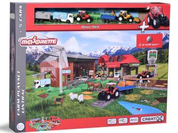 Otroška kmetija Majorette Creatix