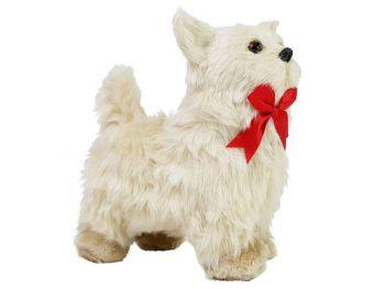 Interaktivna igrača beli kužek