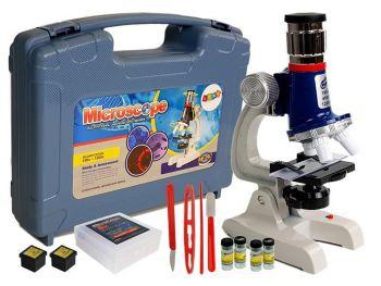 Otroški mikroskop 100x 400x 1200x
