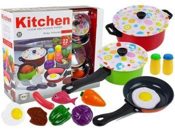 Otroški set kuhinjske posode