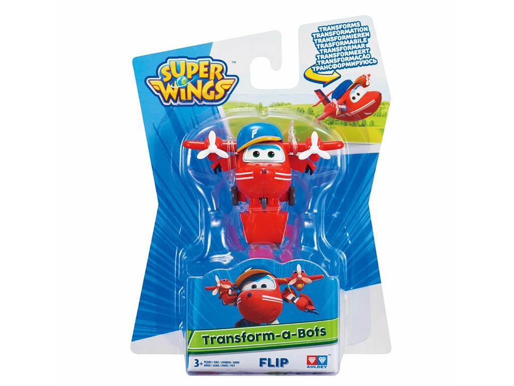 Super wings transforming Flip - super krila