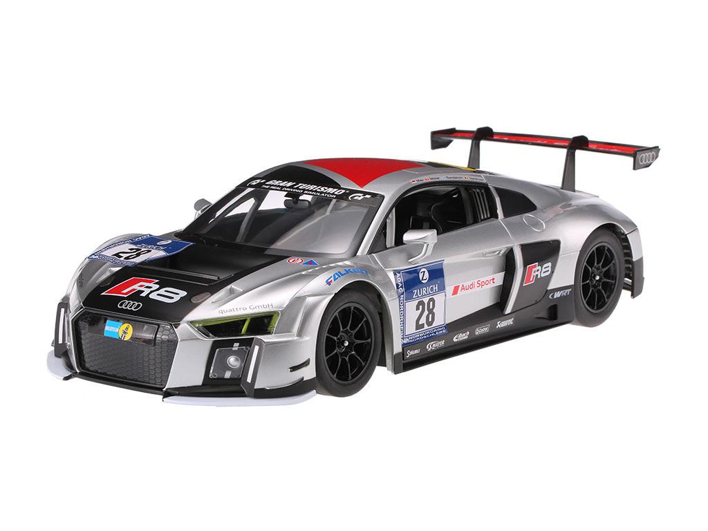 Audi R8 LMS na daljinsko vodenje Rastar RC 1:14 srebrn