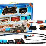 Garnitura vlaka z parno lokomotivo 4265