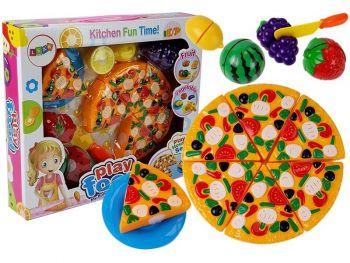 Igrača Pizza za rezanje z sadjem