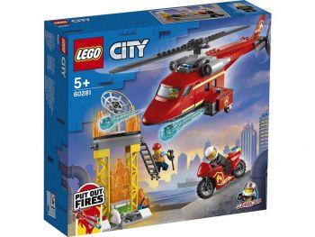 Lego 60281 Helikopter za reševanje iz požarov