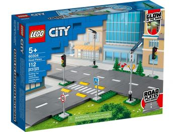 Lego kocke 60304 Plošče za cesto
