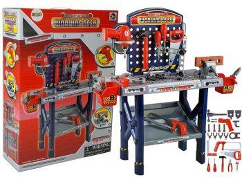 Otroška delavna miza z orodjem
