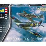 Revell Combat Set Bf109G-10 &Spitfire Mk.V 03710