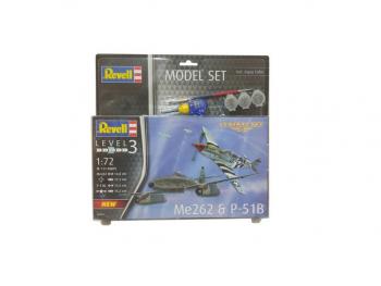 Revell Model Set Combat Set Me262 & P-51B-6050 63711