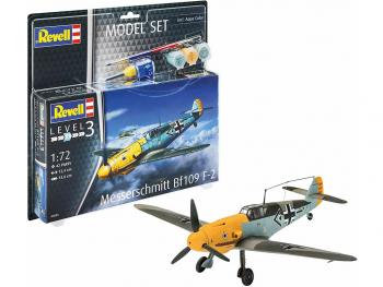 Revell Model Set Messerschmitt Bf109 F-2 63893