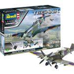 Revell Technik Supermarine Spitfire Mk.IXc 00457