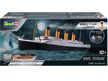 Revell maketa Gift Set Titanic + 3D Puzzle 05599