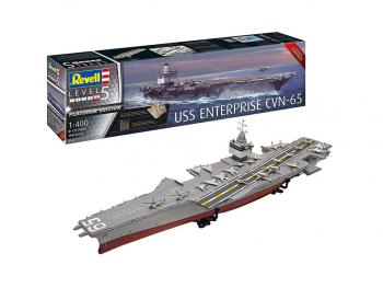 Revell maketa ladje USS Enterprise CVN-65 05173