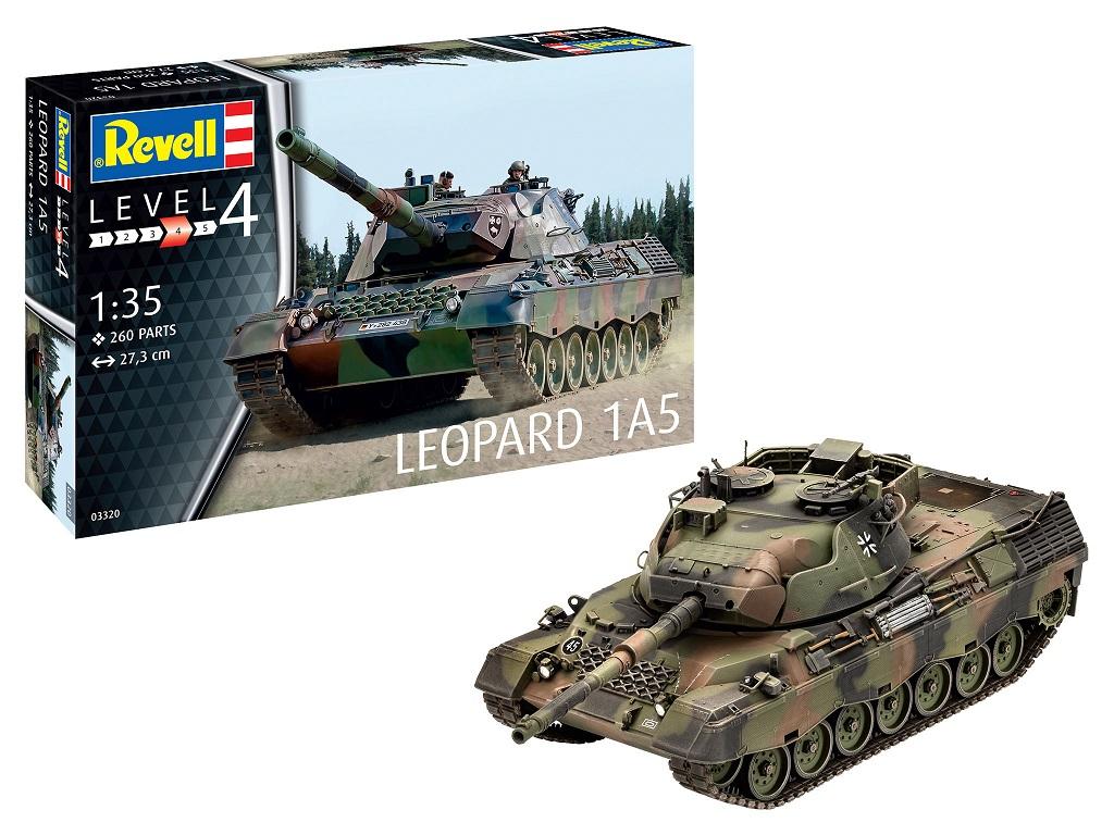 Revell maketa tanka LEOPARD 1A5 03320
