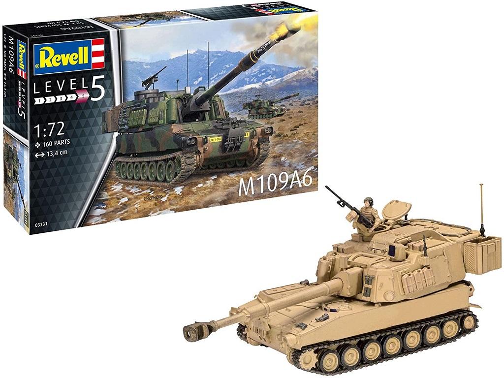 Revell maketa tanka M109A6 03331
