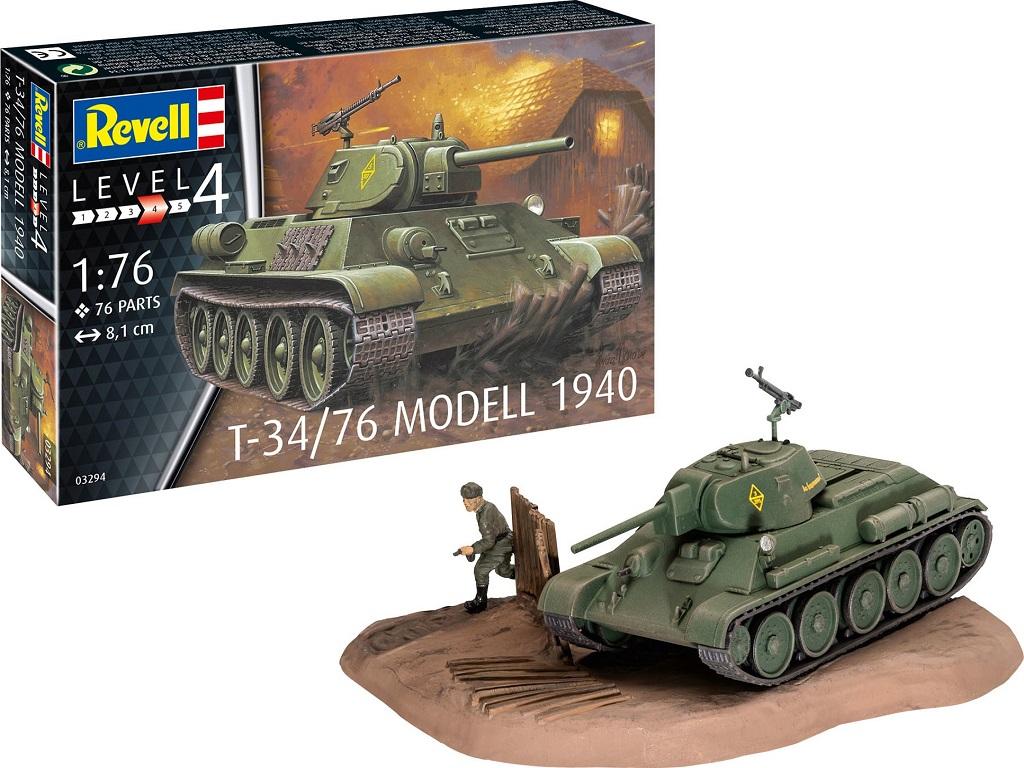 Revell maketa tanka T-34/76 Modell 1940 03294