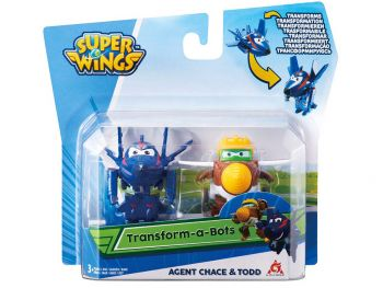 Super krila set Agent Chace in Todd - Super wings