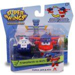 Super krila set Police Jett in Kim- Super wings