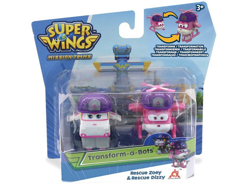 Super krila set Zoey in Dizzy- Super wings