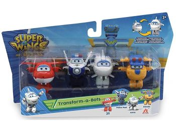 Super wings transforming set - super krila