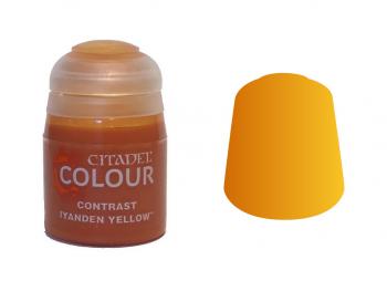 Warhammer barva Contrast Iyanden yellow 29-10