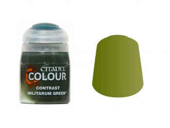 Warhammer barva Contrast Militarum Green 29-24