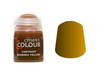 Warhammer barva Contrast Nazdreg Yellow 29-21
