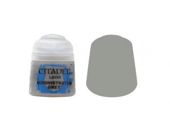 Warhammer barva Layer Administratum Grey 22-50