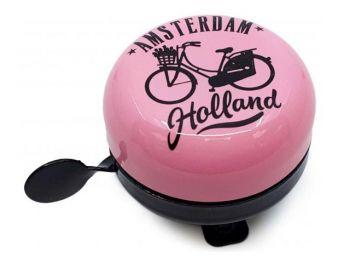 Zvonec za kolo Holland pink