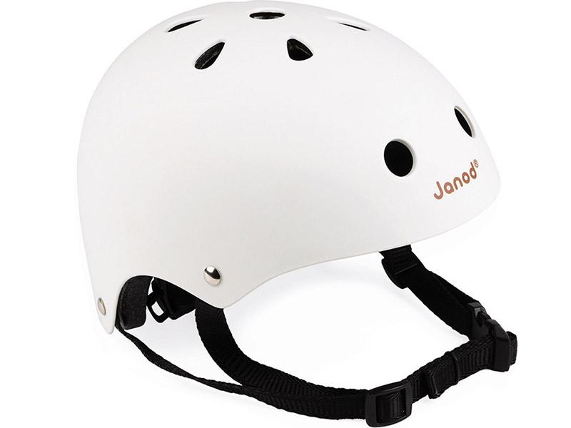 Čelada za kolo Janod bela J03277