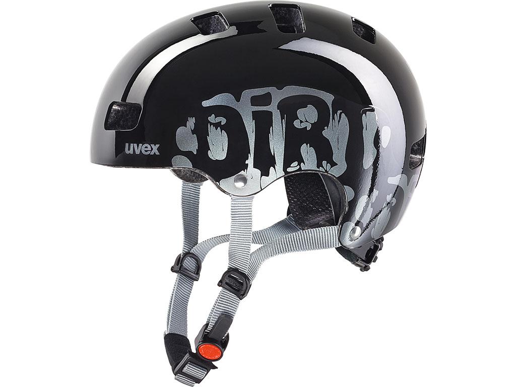 Čelada za kolo Uvex kid 3 dirtbike black 51-55 cm