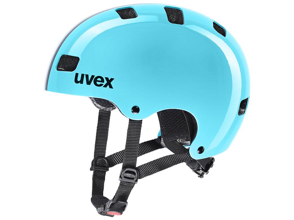 Čelada za kolo Uvex kid 3 race sky 51-55 cm