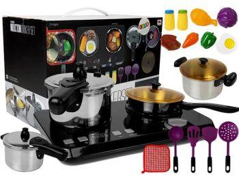 igrača kuhinjski set z kuhalno ploščo