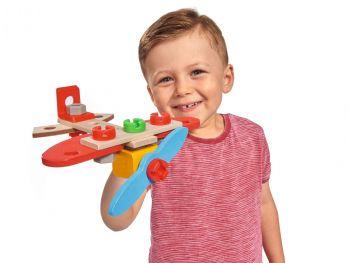 lesena igrača letalo