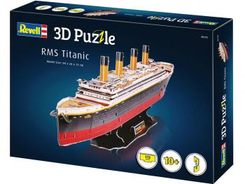 Puzzle sestavljanka 3D Revell RMS Titanic