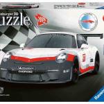 Ravensburger 3D sestavljanka Porsche GT3 108 delna