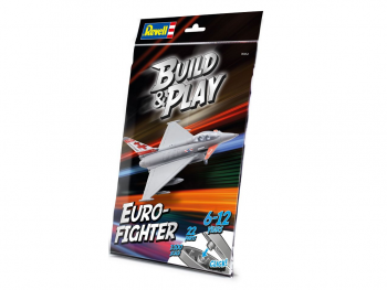 Revell Build & Play Eurofighter Typhoon 06452