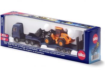 SIKU Tovornjak s kopačem JCB 1790