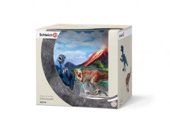 Schleich set figur T-Rex in Velociraptor