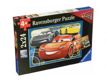 Sestavljanka Cars 2x24 Ravensburger