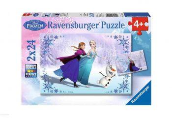 Sestavljanka Frozen 2x24d Ravensburger
