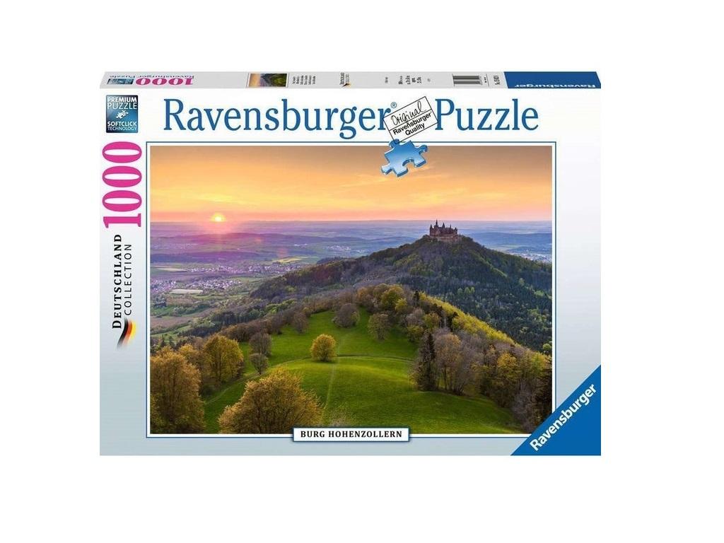 Sestavljanka Grad Burg Hohenzollern 1000d Ravensburger