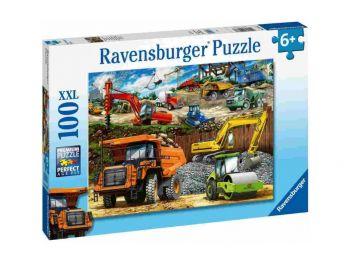 Sestavljanka Gradbena vozila 100XXL Ravensburger