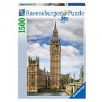 Sestavljanka Mačka na Big Benu 1500d Ravensburger