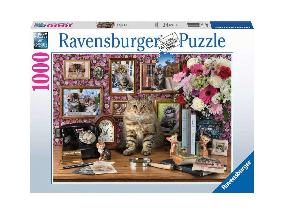 Sestavljanka Mačke 1000d Ravensburger